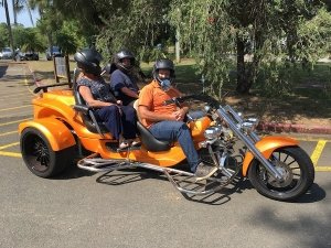 Accessible Trike Tours for two passengers