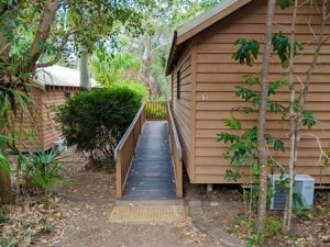 Captain Cook Holiday Villa wheelchair ramp