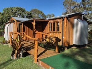 Mango Lodge accessible accommodation wheelchair ramp